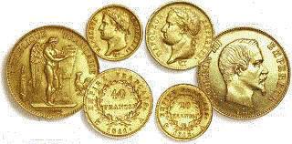 Valeur des monnaies en argent et or de france avec la cotation des pi ces - Valeur ancienne piece ...