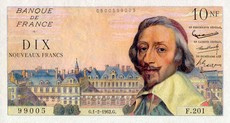 10 Francs Richelieu